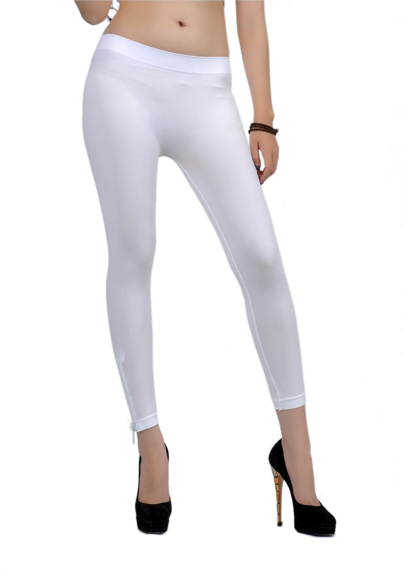 Soho Girls Junior's Capri Length Side-Zip Leggings - One Size at Sears.com